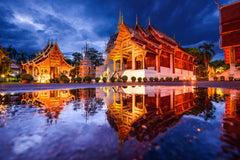 Travelbay South East Asia - 21 Days in Thailand, Laos, Cambodia and Vietnam - Wat Phra Singh, Chiang Mai