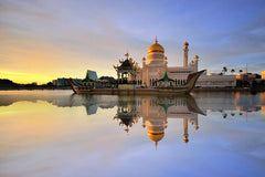 Travelbay Brunei Tours - 4 Day Royal Holiday - Brunei Small Group Tours - Sultan Omar Ali Saifudding Mosque, Bandar Seri Begawan, Brunei