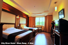Travelbay Cambodia - Experience the Contrasts - City River Hotel, Siem Reap
