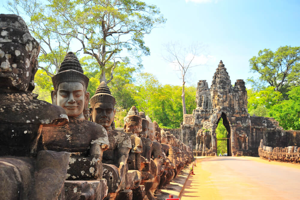 Travelbay Cambodia Tours - 7 Day Highlights Private Tour - Cambodia Private Tours - Stone Gate, Angkor Wat, Siem Reap
