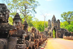 Travelbay Cambodia Tours - 6 Day Highlights Private Tour - Cambodia Private Tours - Stone Gate, Angkor Wat, Siem Reap
