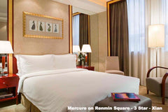 Travelbay China Tours - 8 Day Golden Triangle Private Tour - China Private Tours - Mercure Xian on Renmin Square, Classic Room
