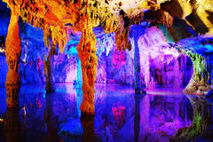 Travelbay China Tours - 10 Day Classic, not to be missed Private Tour - China Private Tours - Reed Flute Cave, Guilin