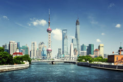 Travelbay China Tours - 8 Day Golden Triangle Private Tour - China Private Tours - Shanghai Skyline, China