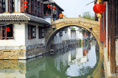 Travelbay China Tours - 12 Day Best of China Private Tour - China Private Tours - Water Village, Zhujiajiao, Shanghai