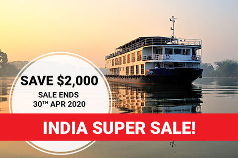 India – This Ultimate 20 Day India Holiday has it all – Luxury River Cruise, 5 Star Private Tour, Wildlife Safaris, Taj Mahal and much more - SPECIAL DEPARTURE DATE