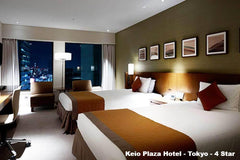Travelbay Japan Tours - 8 Day Highlights of Japan - Japan Private Tours - Room, Keio Plaza Hotel, Tokyo