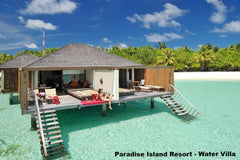 Travelbay Maldives Holidays - 6 Days in Paradise - Maldives Holidays - Water Villa Paradise Island Resort, Maldives