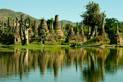 Travelbay Myanmar Tours - 12 Day Magnificence of Myanmar including Beach Break - Myanmar Private Tours - Ancient Pagodas in Inle, Nyaungshwe