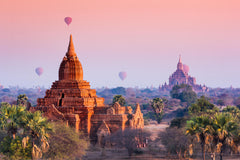 Travelbay Myanmar Tours - 12 Day Magnificence of Myanmar including Beach Break - Myanmar Private Tours - Hot Air Balloon, Bagan