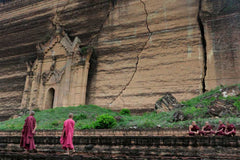 Travelbay Myanmar Tours - 10 Day Magical Myanmar Tour including 4 Night Cruise - Myanmar Private Tours - Mingun, Myanmar