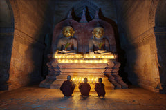 Travelbay Myanmar Tours - 12 Day Magnificence of Myanmar including Beach Break - Myanmar Private Tours - Monks, Bagan