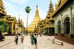 Travelbay Myanmar Tours - 14 Day Best of Burma Tour with 4 Night River Cruise and 2 Flights - Myanmar Private Tours - Shwedagon Pagoda, Yangon