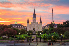 Travelbay USA Tours - 11 Day Deep South Tour - New Orleans, Nashville & Memphis - Jackson SQ, New Orleans