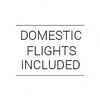 Domestic Flights Included