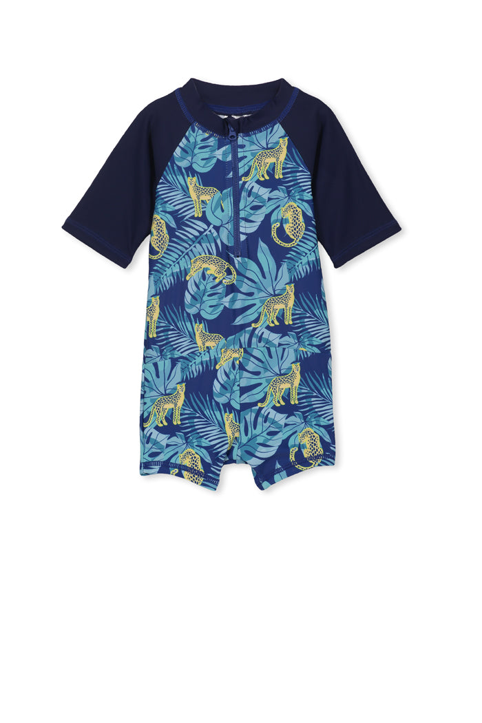MILKY BABY BOY TROPICAL SWIMSUIT