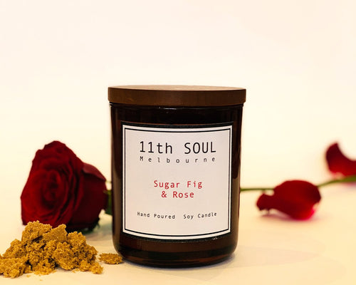 11TH SOUL CANDLE SUGAR, FIG & ROSE