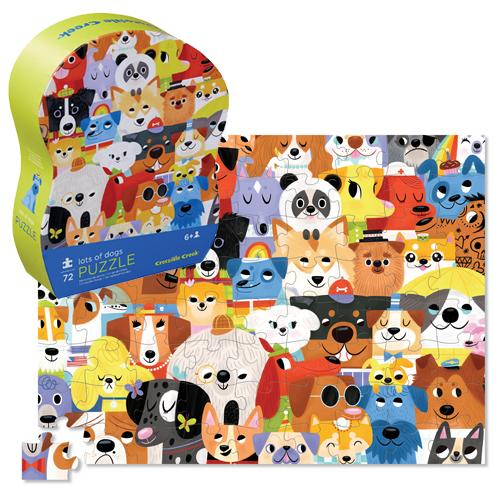 72 PIECE PUZZLE LOTS OF DOGS