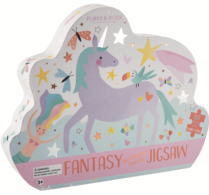 80 PC SHAPED JIGSAW PUZZLE FANTASY
