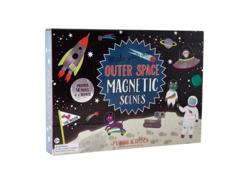 MAGNETIC PLAY SCENE OUTER SPACE