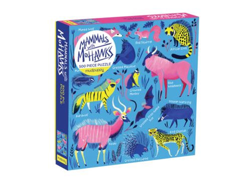 500 PC PUZZLE MAMMALS WITH MOHAWKS