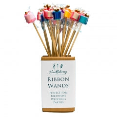HUCKLEBERRY RIBBON WANDS