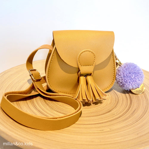 MILLY CROSS BODY BAG MUSTARD