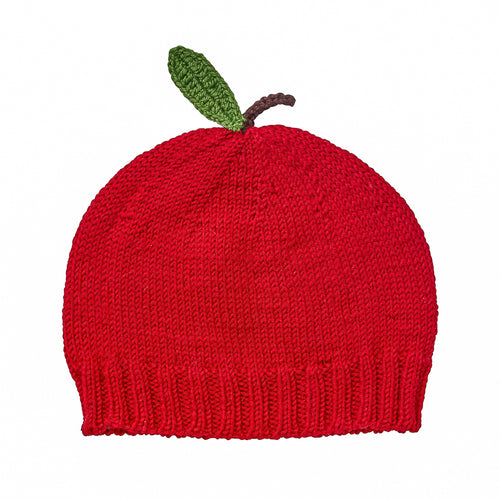 ACORN APPLE BEANIE RED