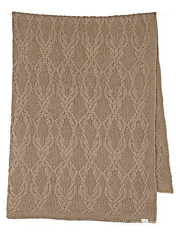 TOSHI ORGANIC BLANKET BOWIE COCOA
