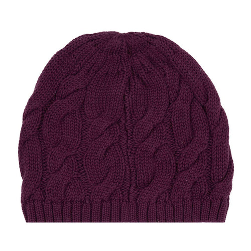 BELLA AND LACE BEANIE MULBERRY