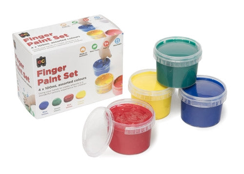 FINGER PAINT SET OF 4