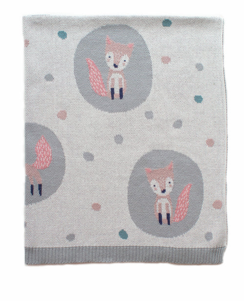 INDUS DESIGN FOXY LADY BLANKET