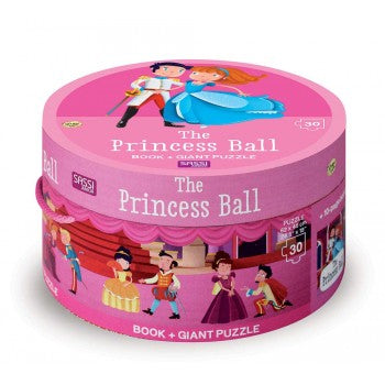 30 PIECE GIANT PUZZLE AND BOOK - THE PRINCESS BALL