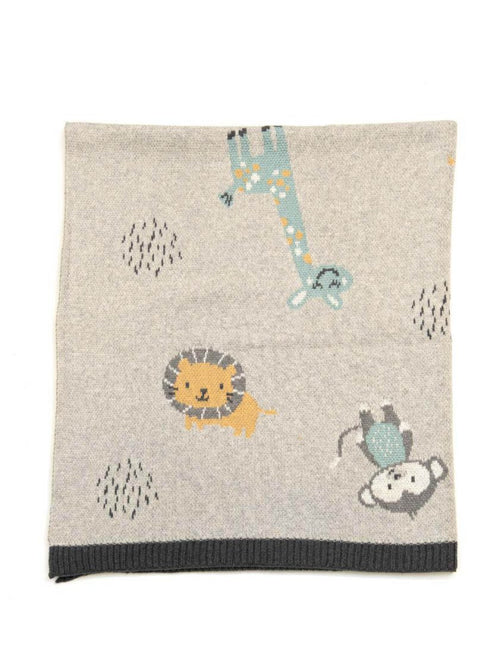 INDUS DESIGN JUNGLE FRIENDS BLANKET