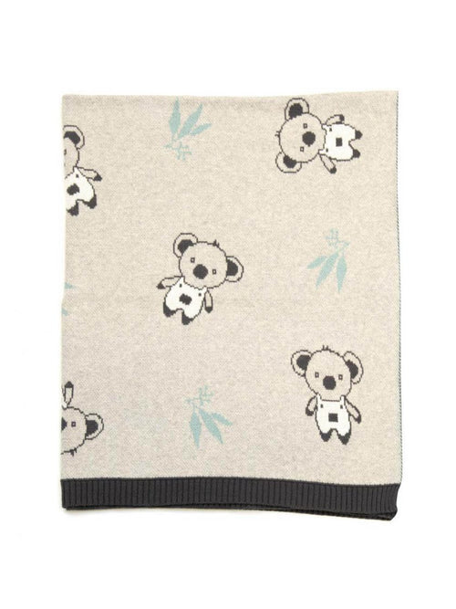 INDUS DESIGN CLANCY KOALA BLANKET