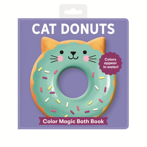 MAGIC BATH BOOK -  CAT DONUTS