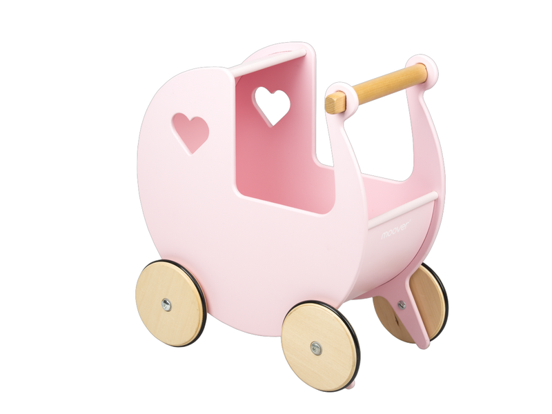MOOVER DOLLS PRAM LIGHT PINK