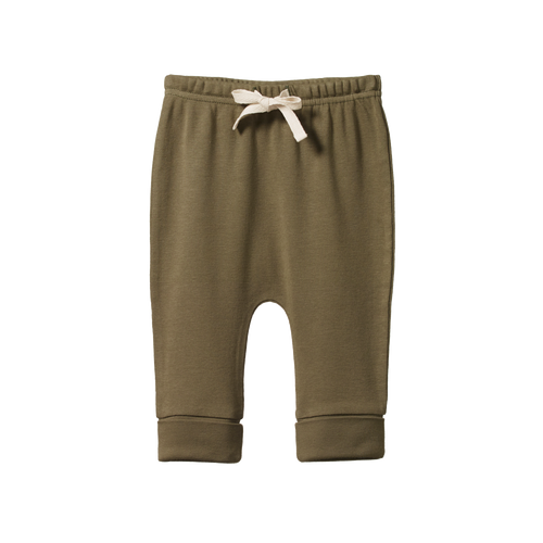 NATURE BABY DRAWSTRING PANTS CYPRESS