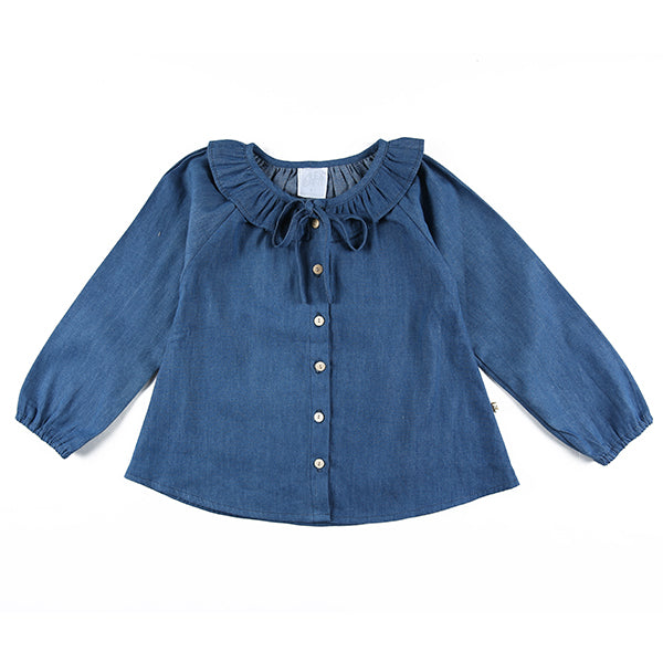 ALEX AND ANT PETA TOP CHAMBRAY