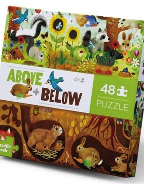 ABOVE AND BELOW BACKYARD PUZZLE 48 PIECE
