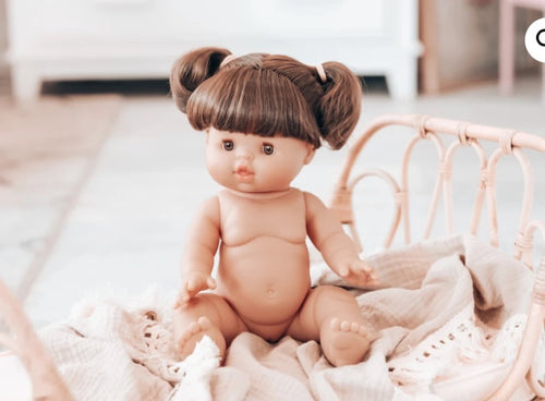 PAOLA REINA GORDIS DOLL BRUNETTE GIRL 34CM BROWN EYES