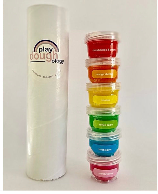 PLAYDOUGHOLOGY TREATS COLLECTION STACK (6 MINI TUBS)