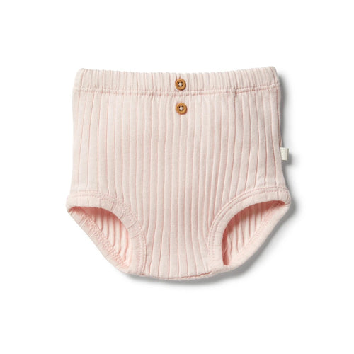WILSON & FRENCHY ORGANIC NAPPY PANT - ANGEL WING