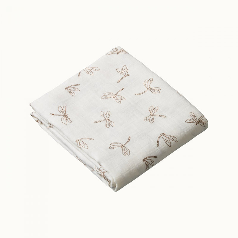 NATURE BABY MUSLIN WRAP DRAGONFLY