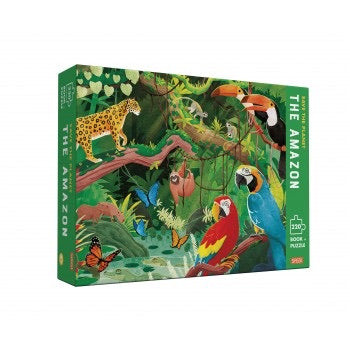 SAVE THE PLANET PUZZLE - THE JUNGLE
