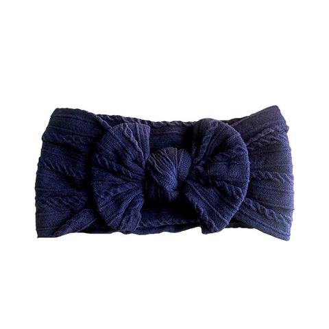 ARCH N OLLIE CABLE KNOT HEADBAND NAVY