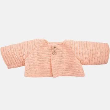 DINKUM DOLL SINGLE CARDIGAN ROSE