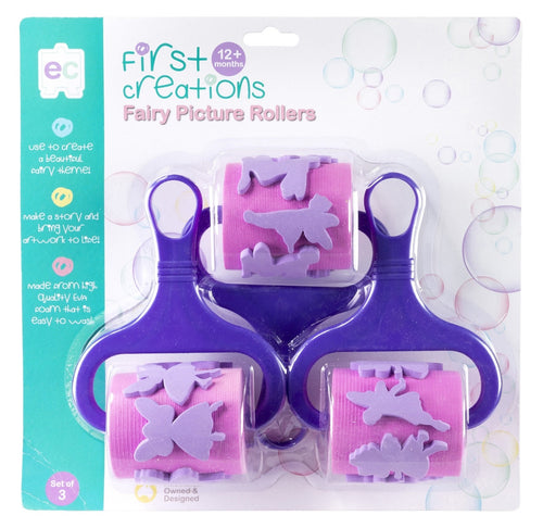 FAIRY PICTURE ROLLERS SET OF 3
