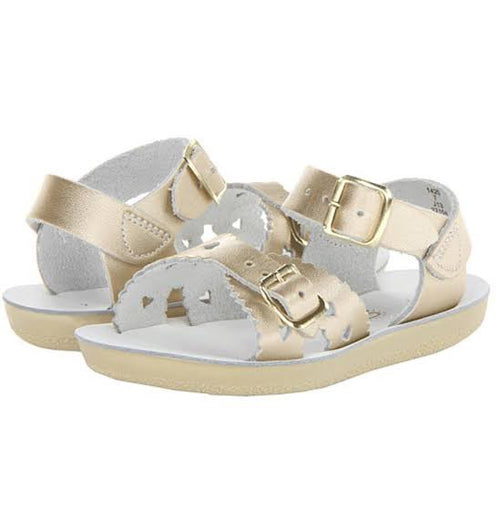 SALTWATER SWEETHEART SANDAL GOLD