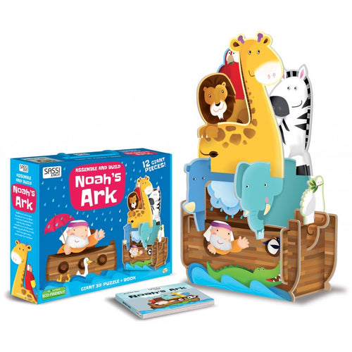 3D ASSEMBLE BUILD AND BOOK - NOAH'S ARK